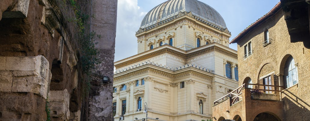 Guided walking tour of Rome's Jewish ghetto