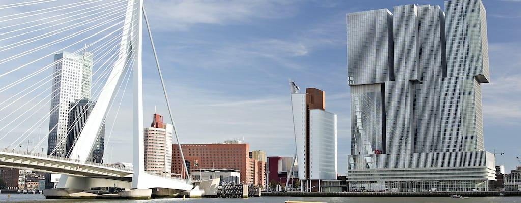 Роттердам пешеходная экскурсия с нидерландский музей мореплавания, Кубические дома, водные такси и на крыше с видом
