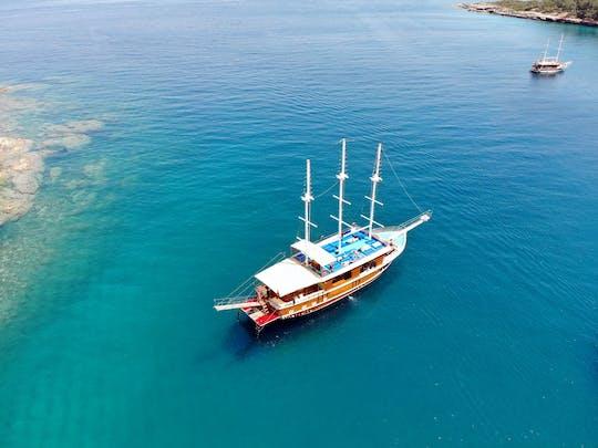 Croisière en bateau privé à Kemer