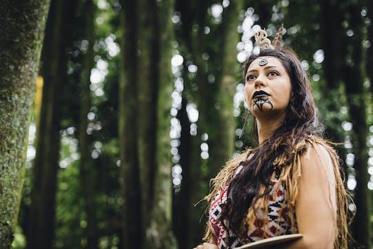 Вечер деревни Тамаки маори культурный опыт