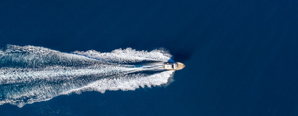 Całodniowa wycieczka łodzią po Positano i Capri z Sorrento
