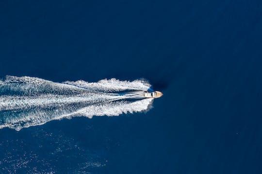 Tour in barca di un'intera giornata a Positano e Capri da Sorrento