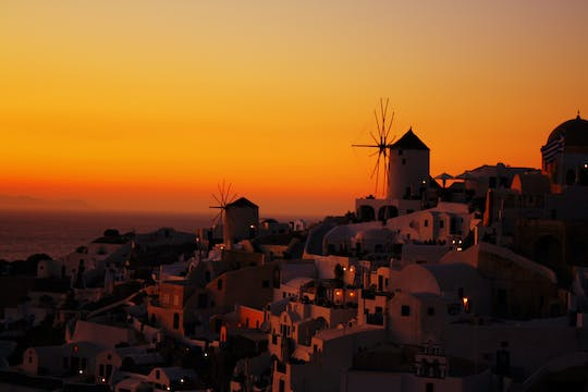 Gems sunset cruise tour in Santorini