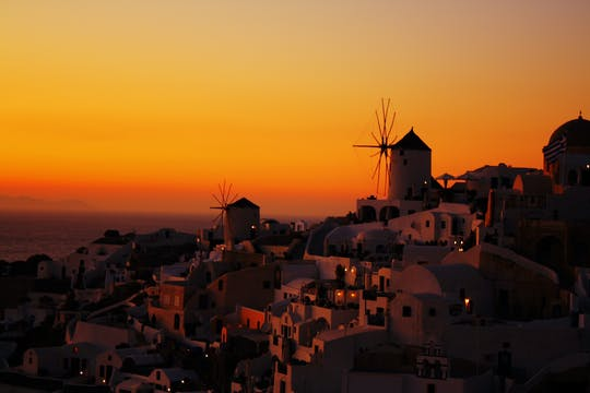 Gems Sunset Cruise Tour auf Santorin
