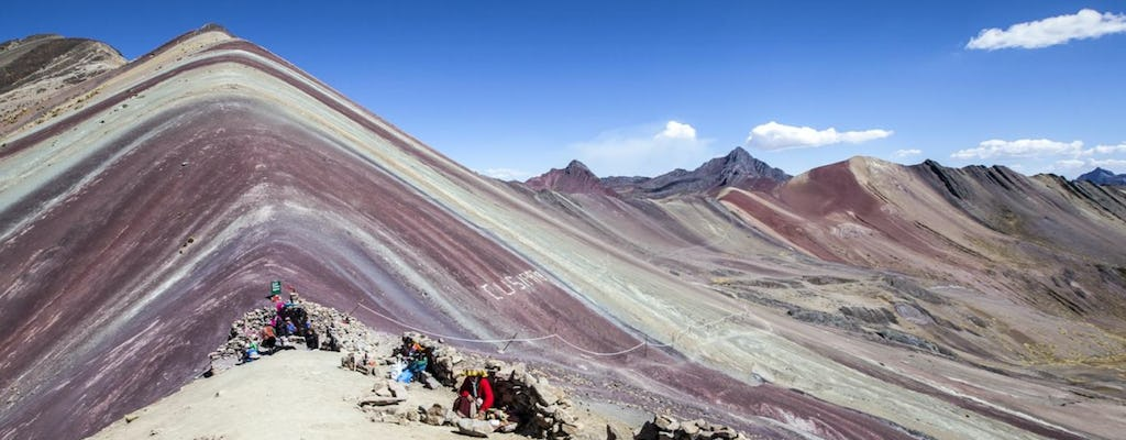 Vinicunca Rainbow Mountain full-day hike experience