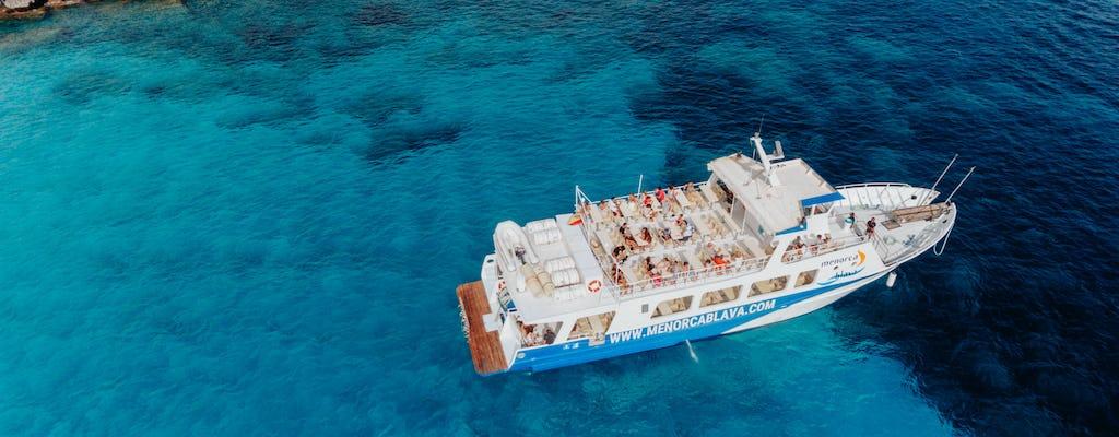 Южный лодка Менорка экскурсия с паэльей обед