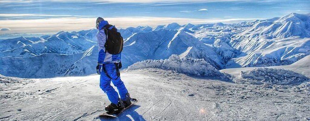 Prywatna wycieczka dla miłośników śniegu do ośrodka narciarskiego Gudauri