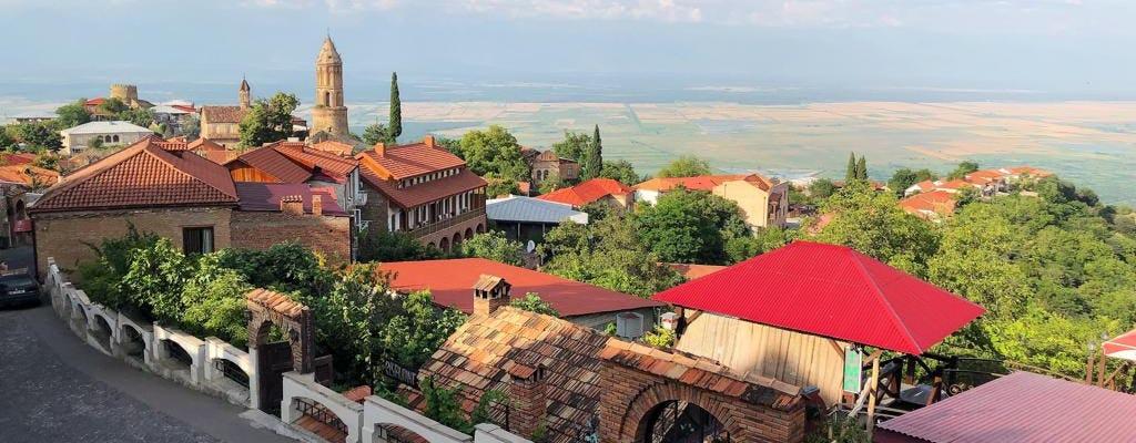 Индивидуальная экскурсия в винный регион Грузии-Кахети, в том числе посещение допуски KTW и винный завод Цинандали имущества