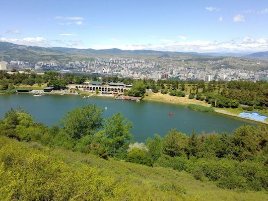 Tbilisi private city tour with visit to the Ehnographic museum and evening walk around Turtle Lake