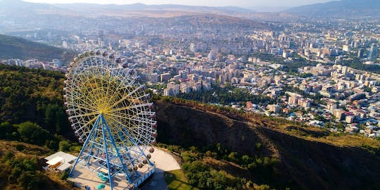 Tbilisi private city tour with a visit to Mtatsminda Pantheon and a ride on the tramway