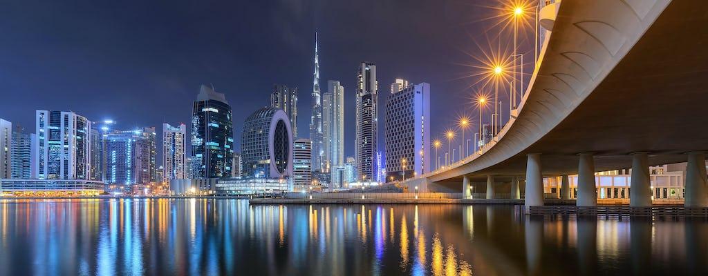Crociera con cena di lusso sul canale di Dubai con trasferimento e bevande opzionali