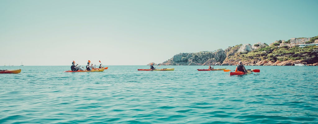 Kayaking and snorkeling in Costa Brava from Barcelona