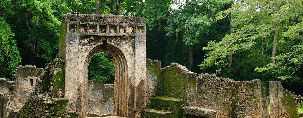 Excursión de un día a Malindi, el bosque de Arabuko Sokoke y las ruinas de Gedi