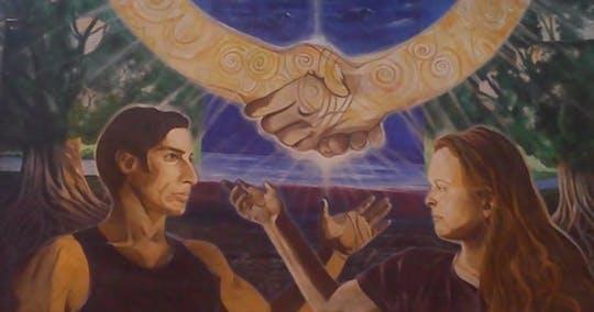 Murales politici e tour della porta della pace di Belfast