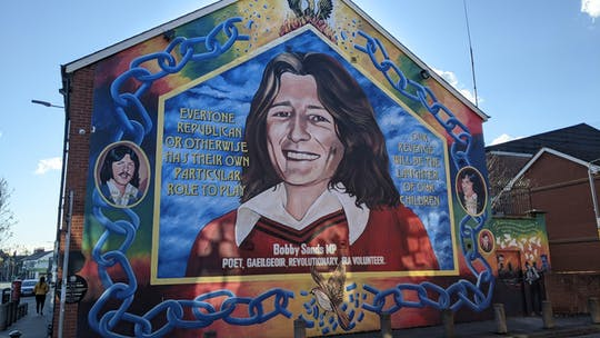 Eclectic Belfast and political murals combined tour
