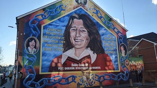 Tour eclético por Belfast e murais políticos combinados