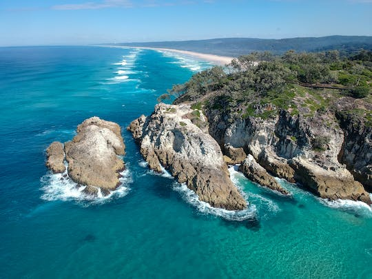 Tour di un'intera giornata dell'isola di North Stradbroke da Brisbane