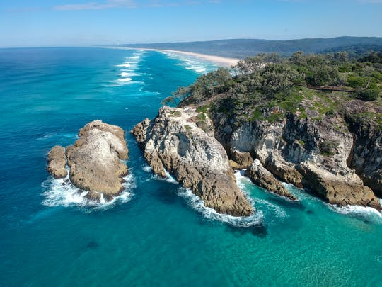 Full-day tour of North Stradbroke Island from Brisbane
