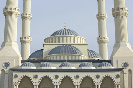 Dubai half-day city tour and  Blue Mosque visit