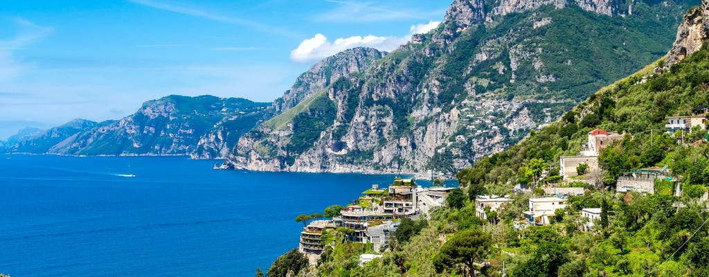 Positano and Amalfi cruise from Sorrento