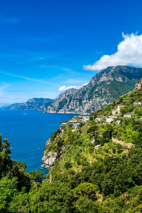 Positano and Amalfi cruise from Sorrento