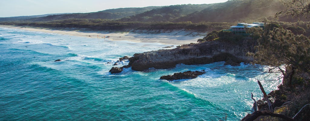 Full-day tour of North Stradbroke Island from Gold Coast
