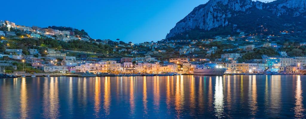 Sorrento coast and Capri evening boat tour