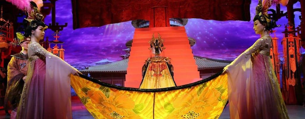 Excursão privada de dia inteiro - show com jantar nos guerreiros de terracota de Xian e dinastia Tang
