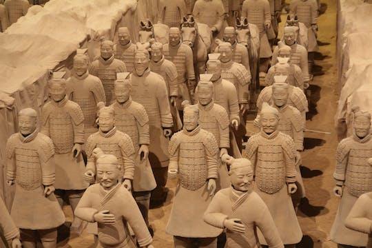 Halbtägige private Xian-Zwischenstopp-Tour - Terracotta Warriors Museum mit Flughafentransfer