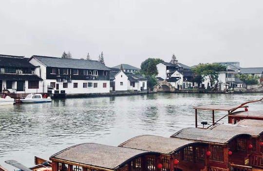 Ganztägige private Tour - Shanghai alte Wasserstadt und Huangpu Flusskreuzfahrt