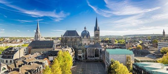 Passeio guiado privado a pé em Aachen