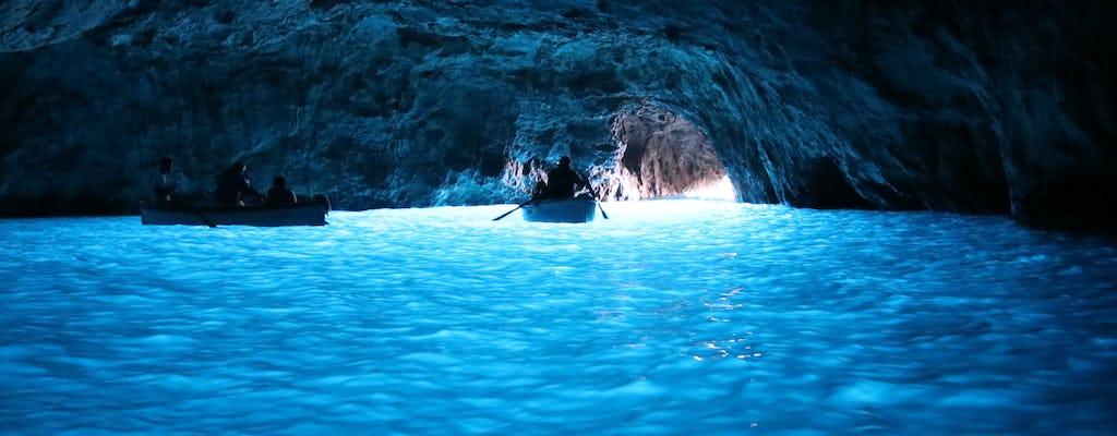 Wycieczka łodzią Sorrento e Capri z pływaniem i nurkowaniem z rurką
