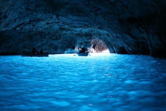 Excursion en bateau à Sorrente et Capri avec baignade et plongée en apnée
