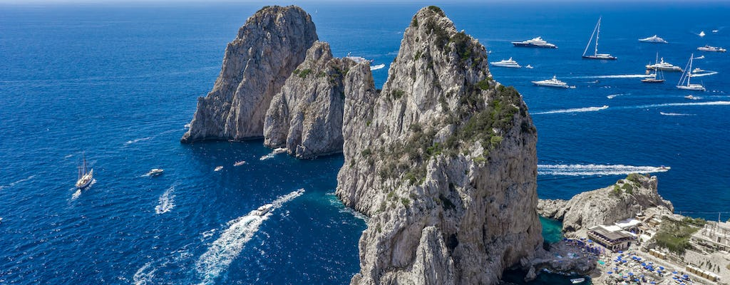 Sorrento coast and Capri boat excursion