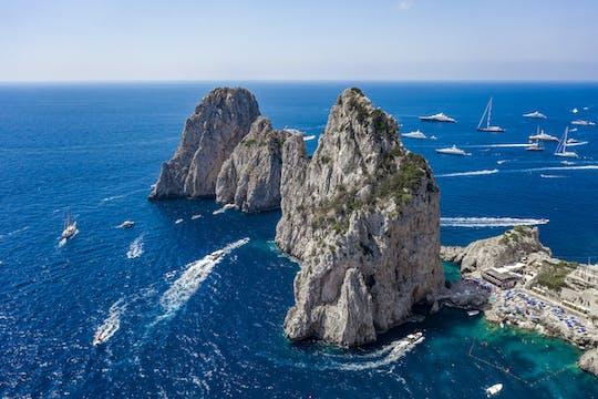 Побережье Сорренто и Капри лодка, экскурсии