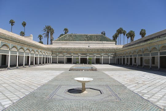Bahia Palace, Badii Palace and Saadian Tombs tour