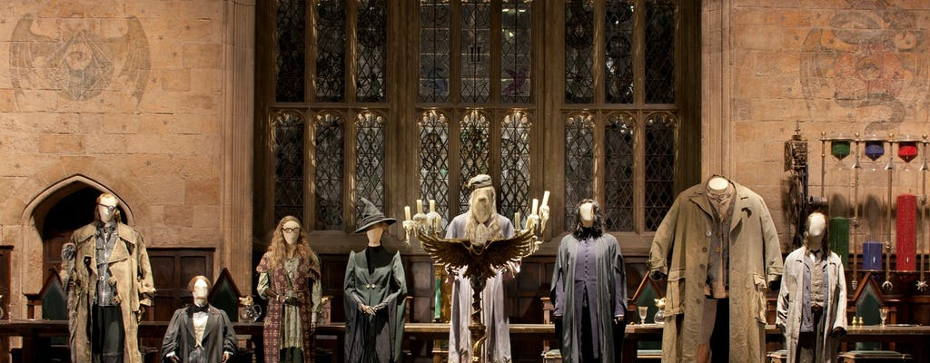 The Making of Harry Potter con recogida matutina