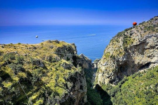 Amalfiküste Zipline und Positano besuchen