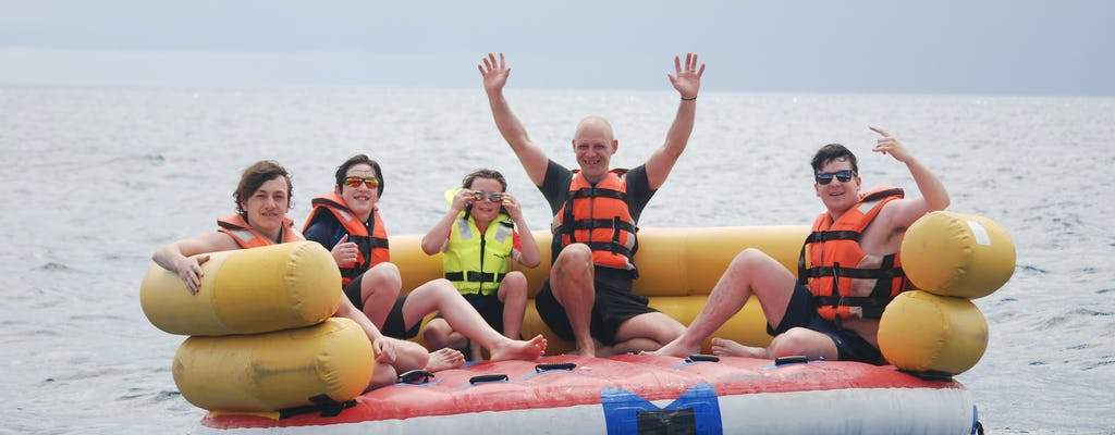 Crazy Combo - Bananenboot & Donut-Fahrt