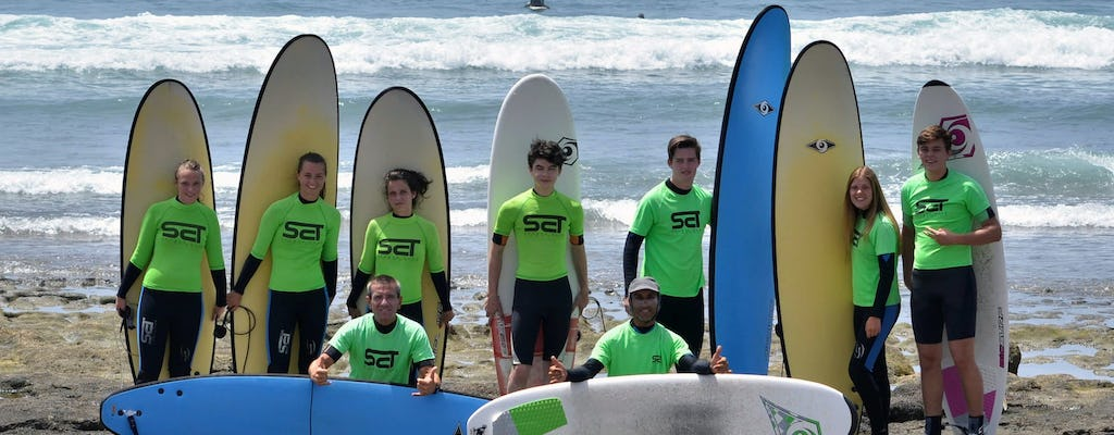 Surfing Lesson in Tenerife