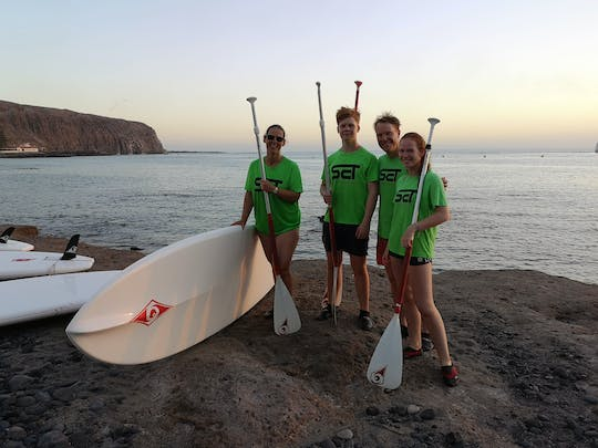 Private Stand-up Paddle Lesson in Tenerife