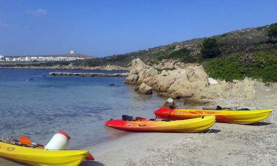 Fornells Bay Kayak Tour