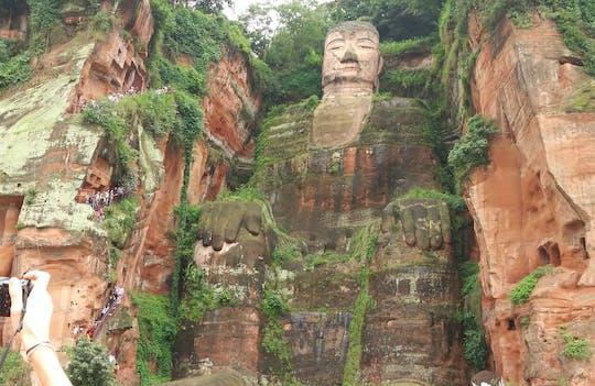 Tour privato di un'intera giornata del Buddha gigante di Leshan con pranzo