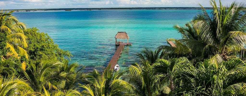Bacalar seven colors lagoon guided tour