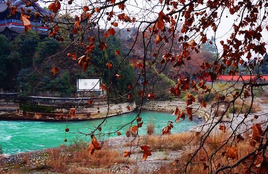 Tour privato di un'intera giornata Montagna taoista e irrigazione Dujiangyan