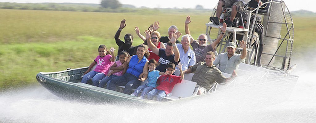 Kennedy Space Center with airboat adventure