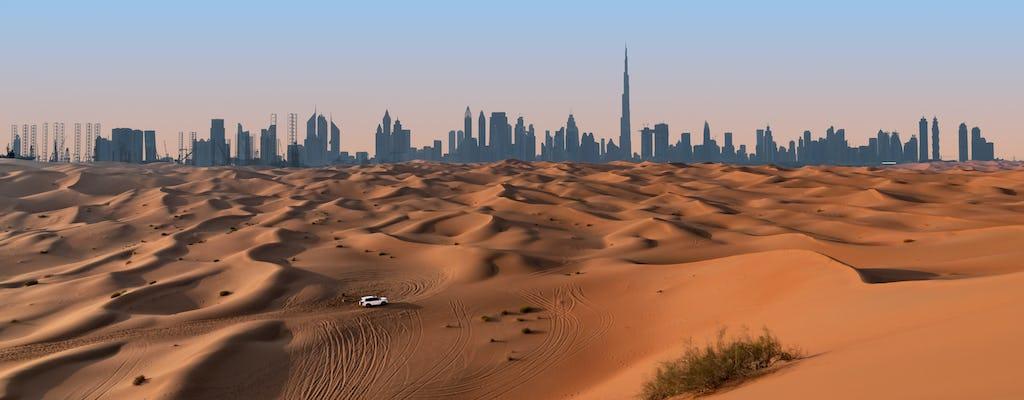 Safari privado no deserto pela manhã no acampamento Bassata de Ras Al Khaimah