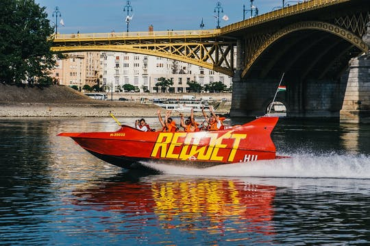 Budapester Schnellbootfahrt auf der Donau