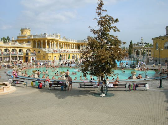 Private Budapest city tour and Széchenyi thermal spa skip-the-line ticket