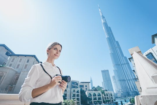 Iconic photo tour of Dubai with a photographer